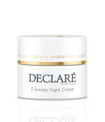 Declare 5 Secrets Night Cream